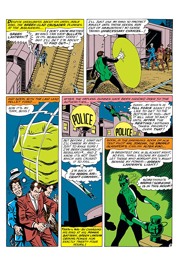 click for super-sized previews of Green Lantern (1960-1972) #9