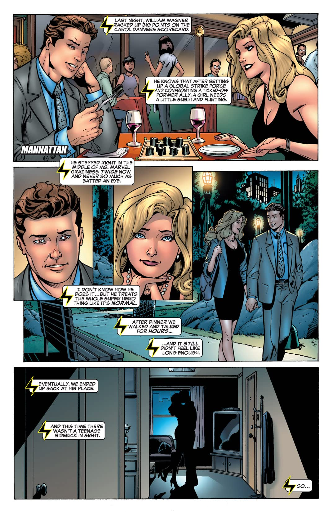 Ms. Marvel (2006-2010) #15