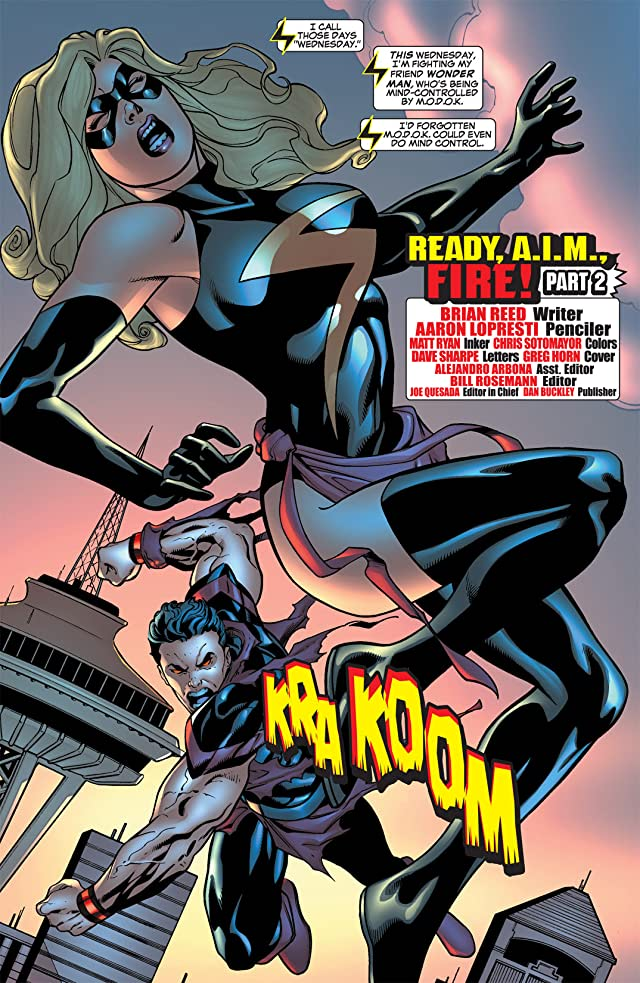 click for super-sized previews of Ms. Marvel (2006-2010) #16