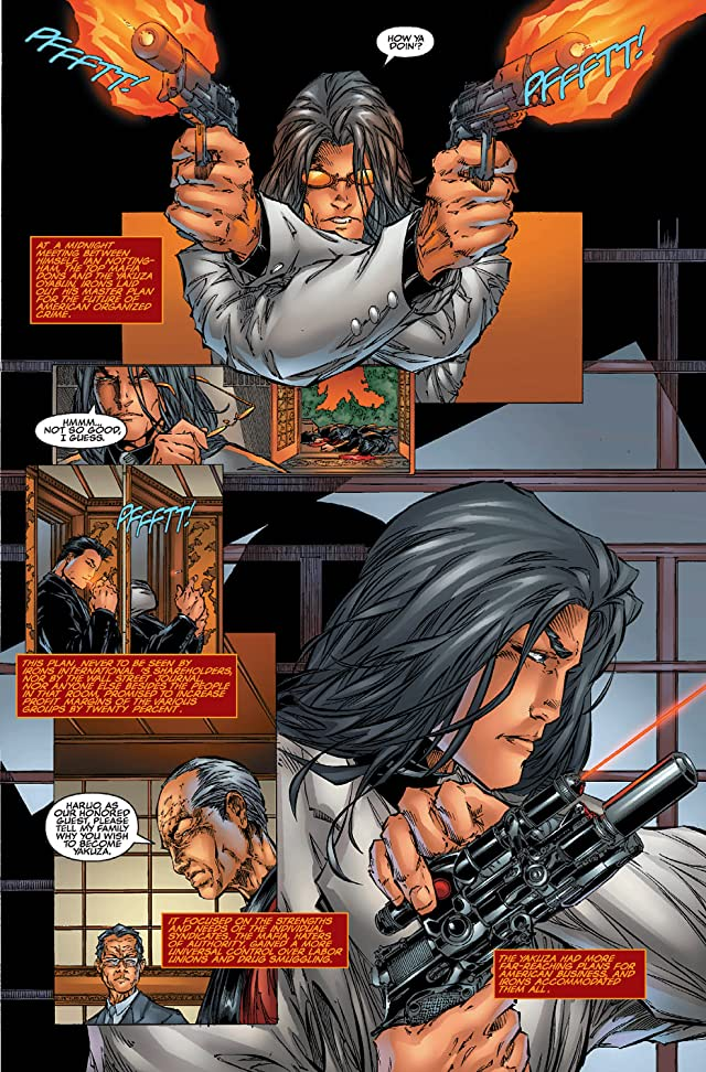 click for super-sized previews of Witchblade #10