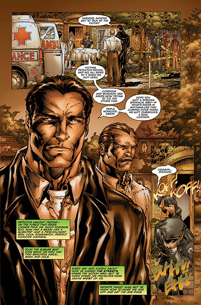click for super-sized previews of Witchblade #12