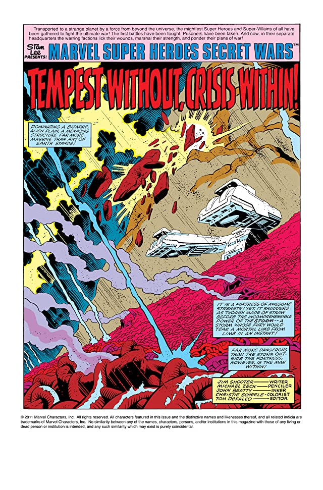 click for super-sized previews of Secret Wars (1984-1985) #3