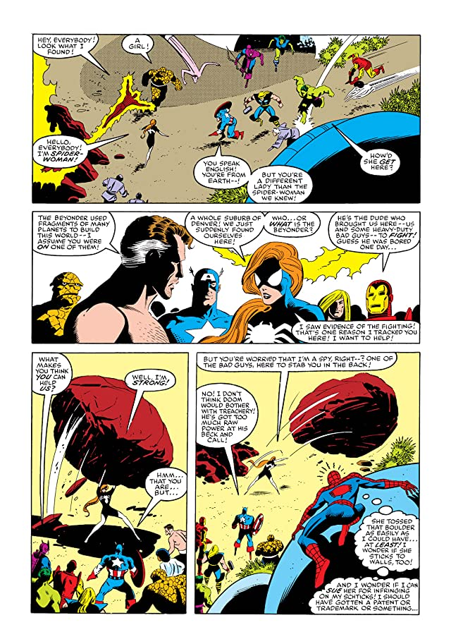 click for super-sized previews of Secret Wars (1984-1985) #7