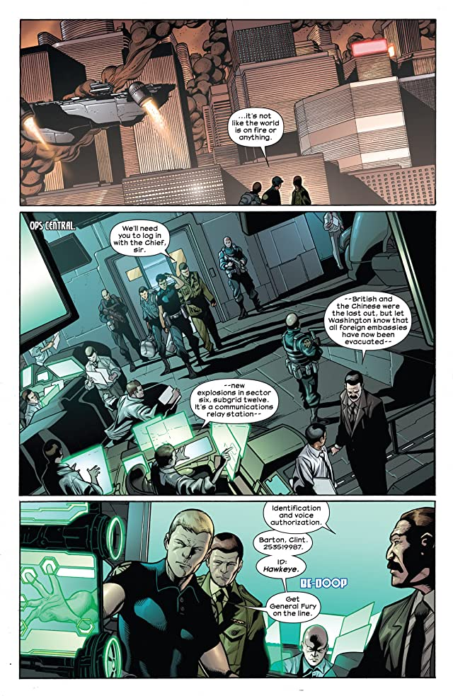 click for super-sized previews of Ultimate Comics Hawkeye #1