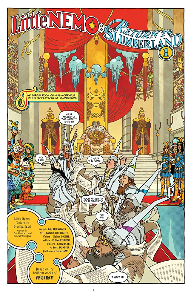 click for super-sized previews of Little Nemo: Return To Slumberland #1