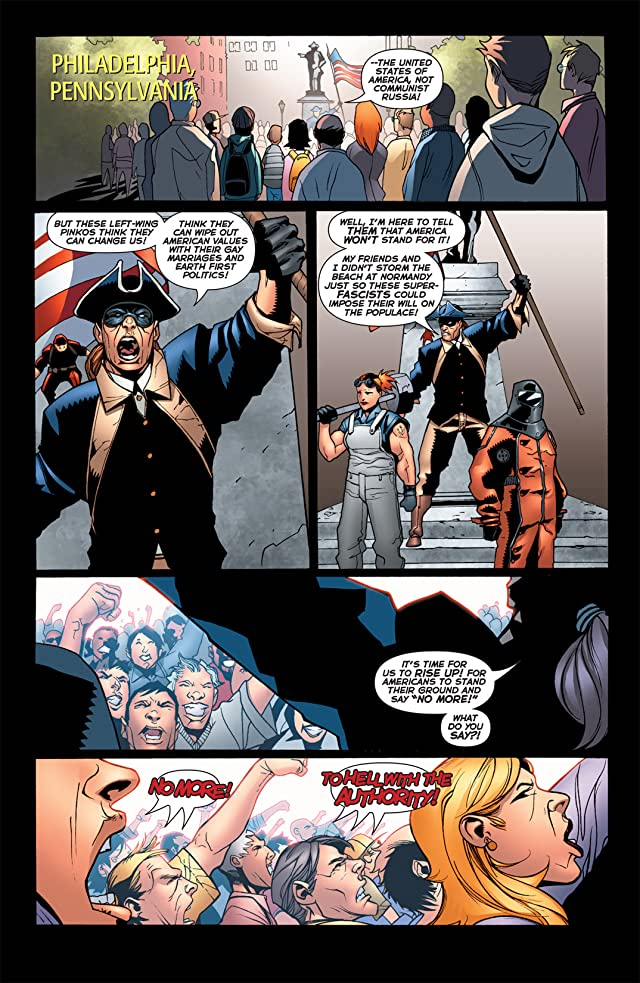 click for super-sized previews of The Authority: Revolution #1