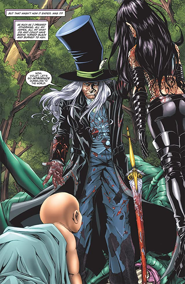 click for super-sized previews of Escape From Wonderland #6