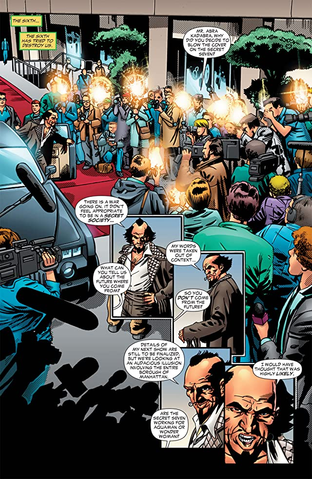 click for super-sized previews of Flashpoint: Secret Seven #3