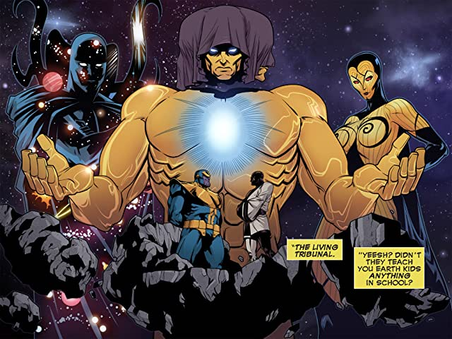 click for super-sized previews of Guardians of the Galaxy Infinite (2014) #1