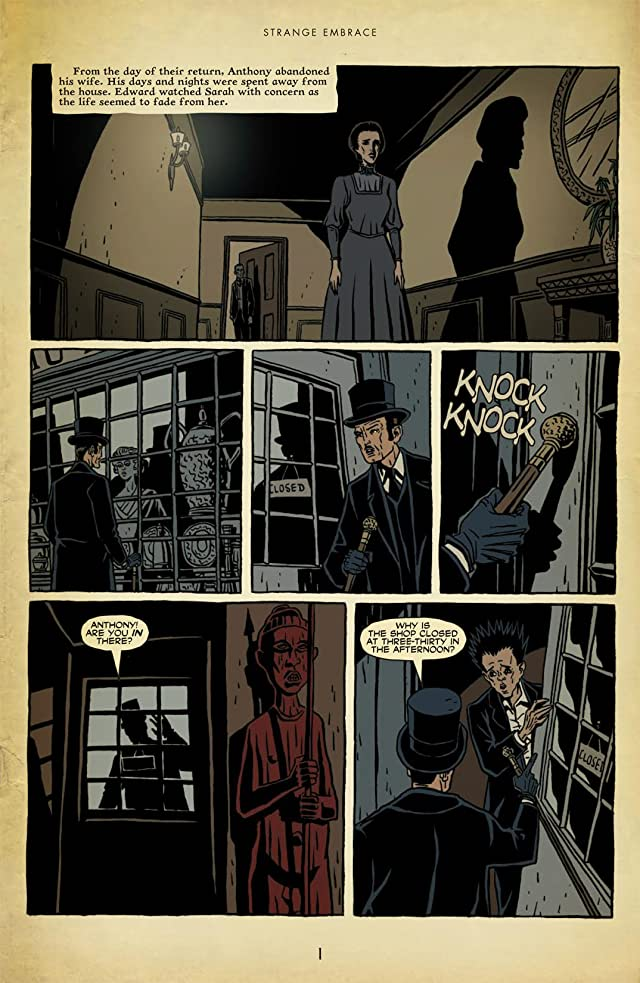 click for super-sized previews of Strange Embrace #4 (of 8)