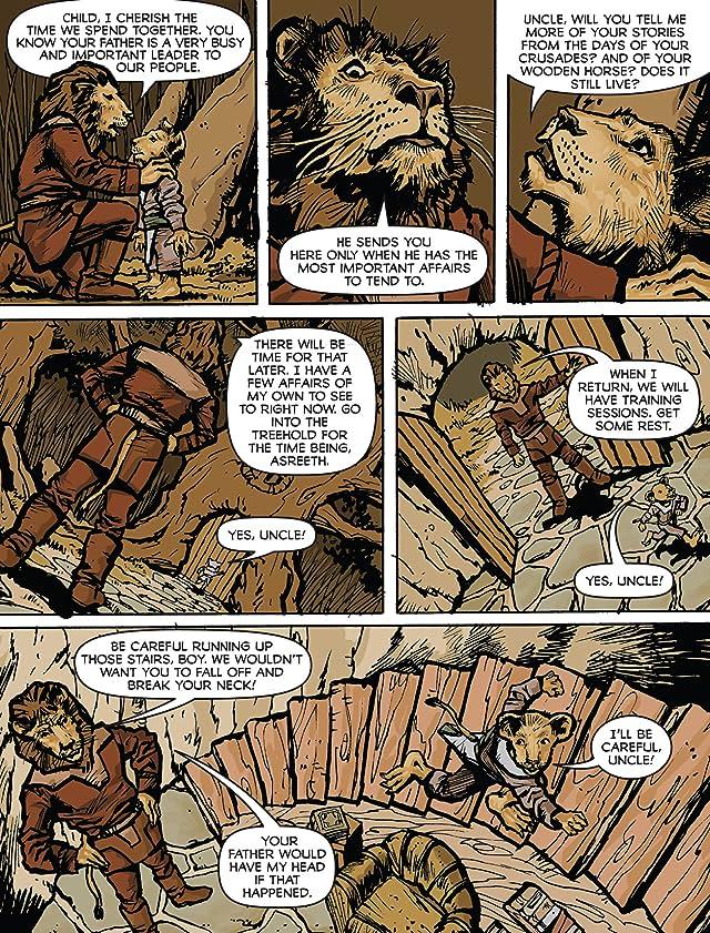 Asreeth Lion Warrior Vol. 1: The Lion's Roar