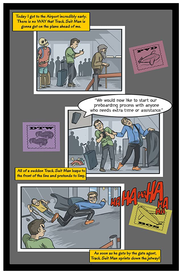 click for super-sized previews of The Adventures of Track Suit Man #1