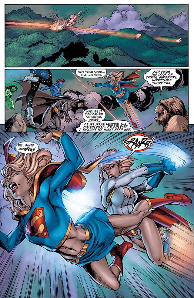click for super-sized previews of Justice League of America (2006-2011) #45