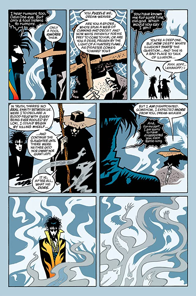 click for super-sized previews of The Sandman #63