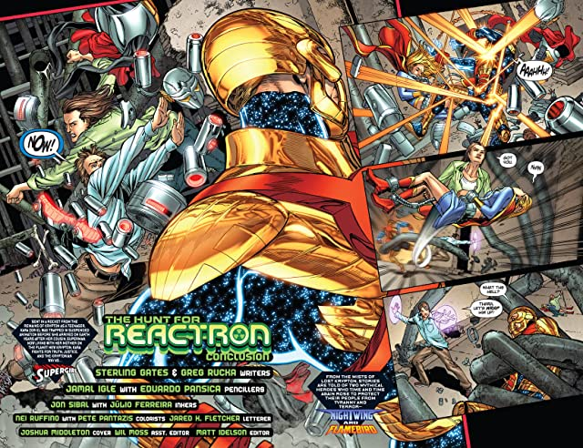 click for super-sized previews of Supergirl (2005-2011) #46