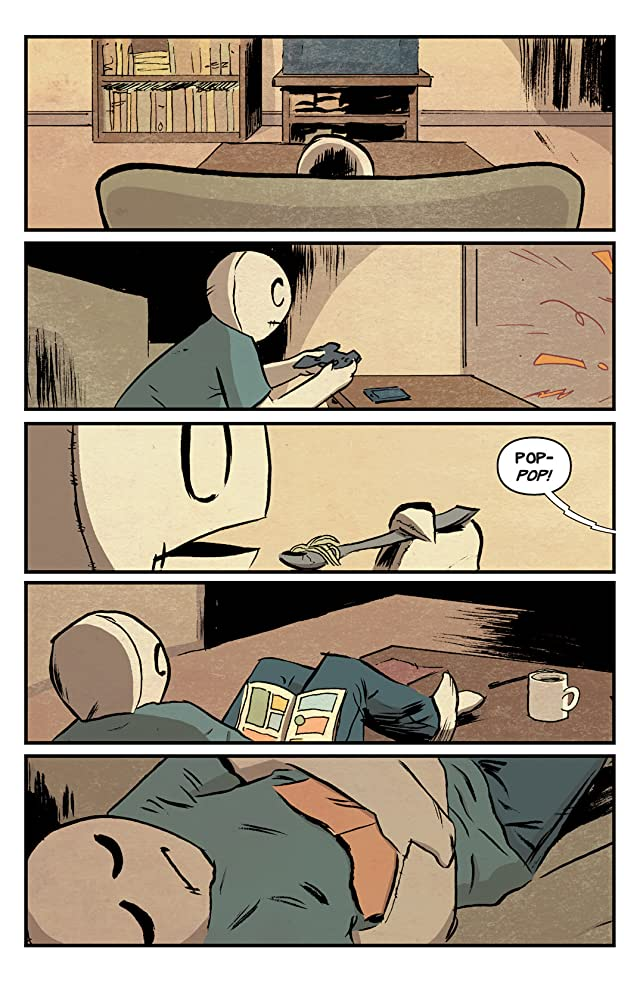 click for super-sized previews of The Li'l Depressed Boy #5