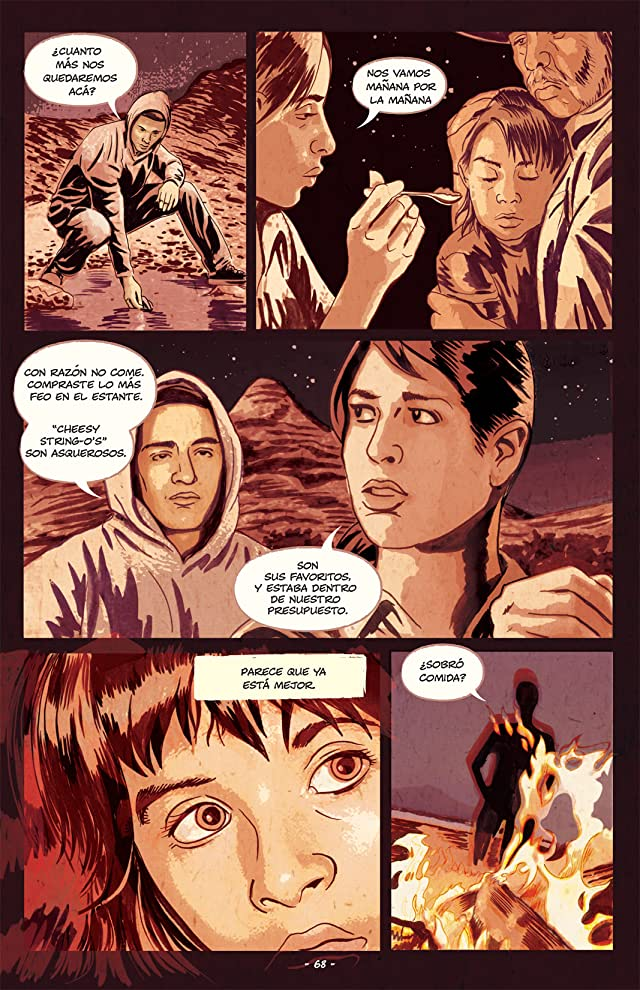 click for super-sized previews of Feeding Ground (En Espanol) #3 (of 6)