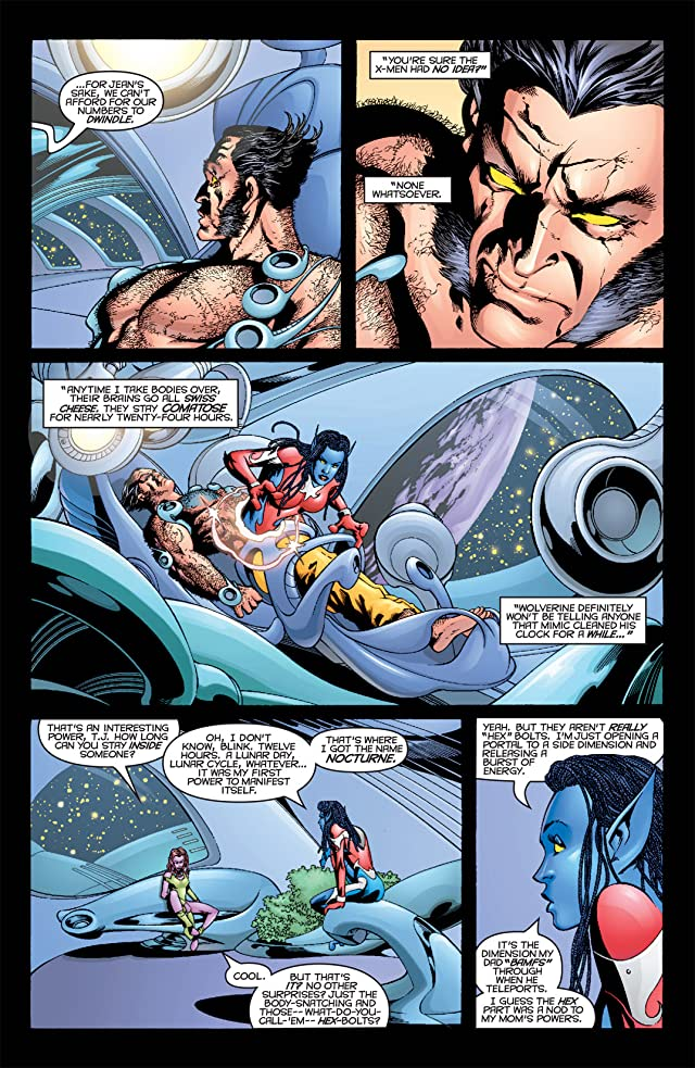 click for super-sized previews of Exiles (2001-2008) #4