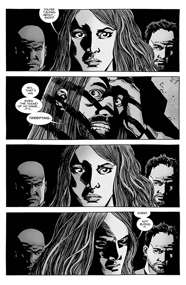 click for super-sized previews of The Walking Dead #130