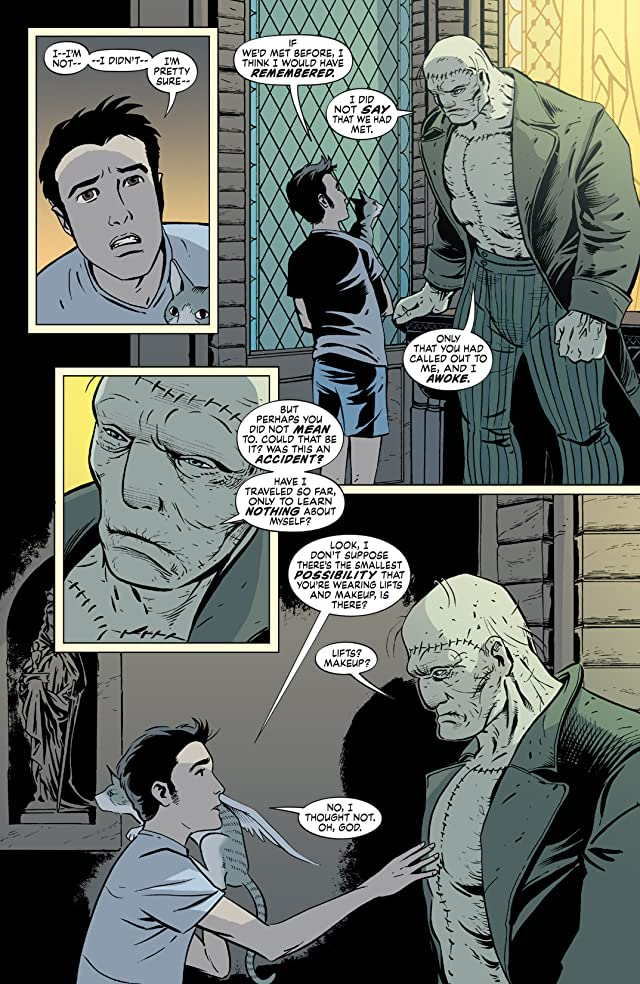 click for super-sized previews of The Unwritten #7