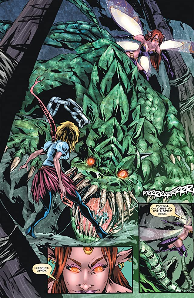 Grimm Fairy Tales Presents: Neverland #6 (of 7)