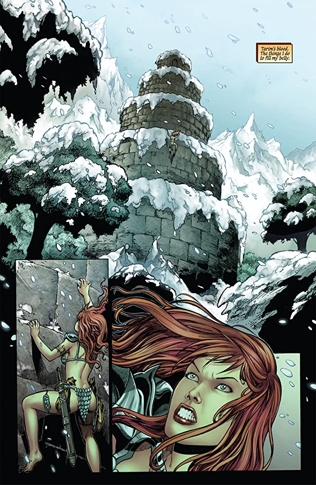 click for super-sized previews of Red Sonja: Blue
