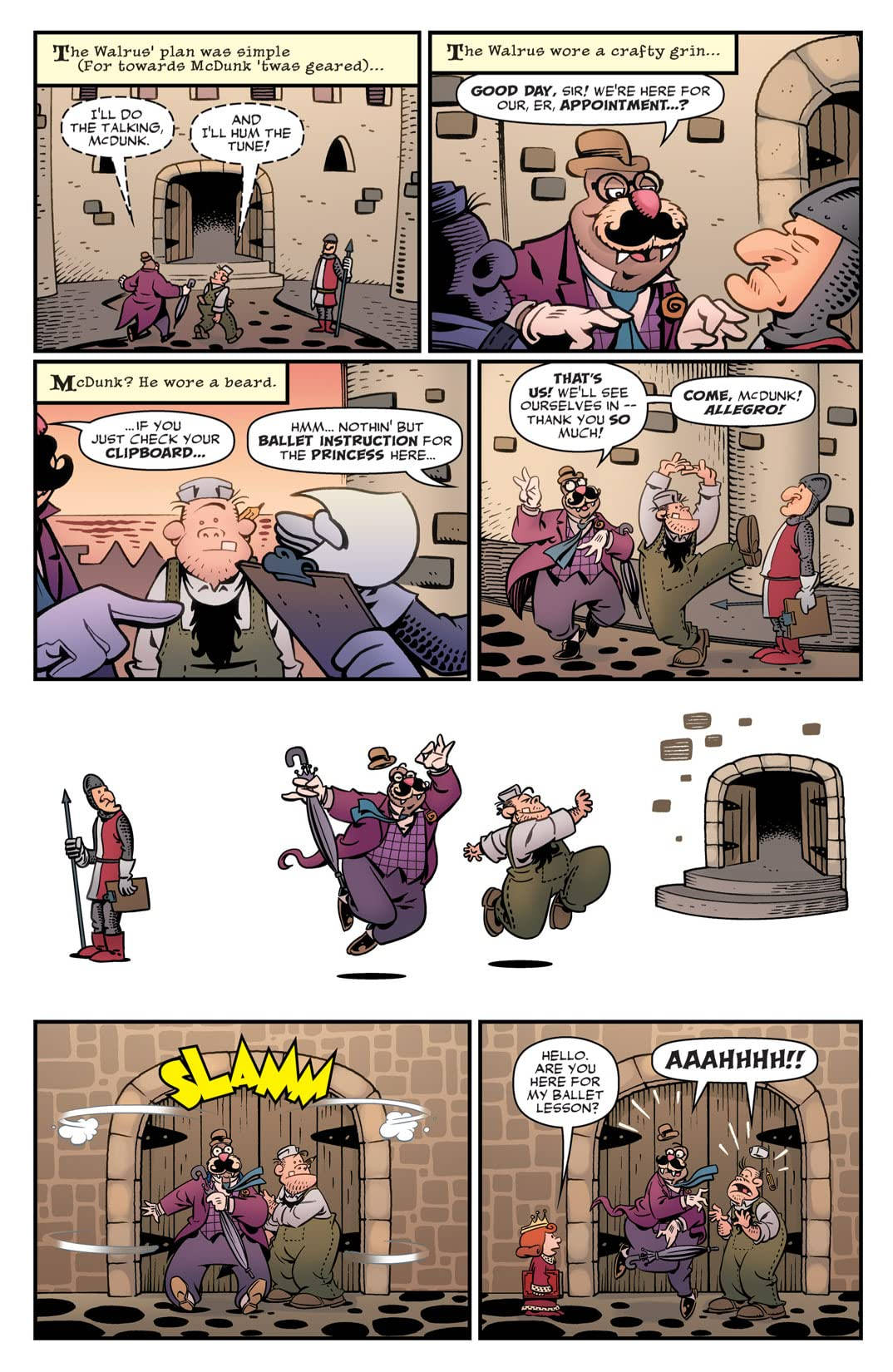 Roger Langridge's Snarked #0