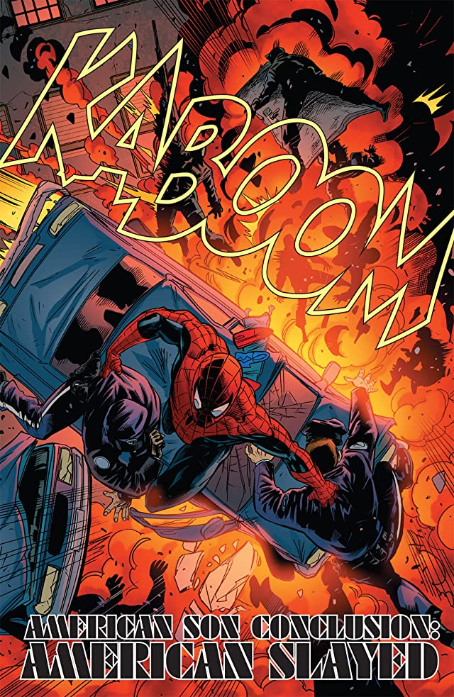 click for super-sized previews of Amazing Spider-Man Presents: American Son #4