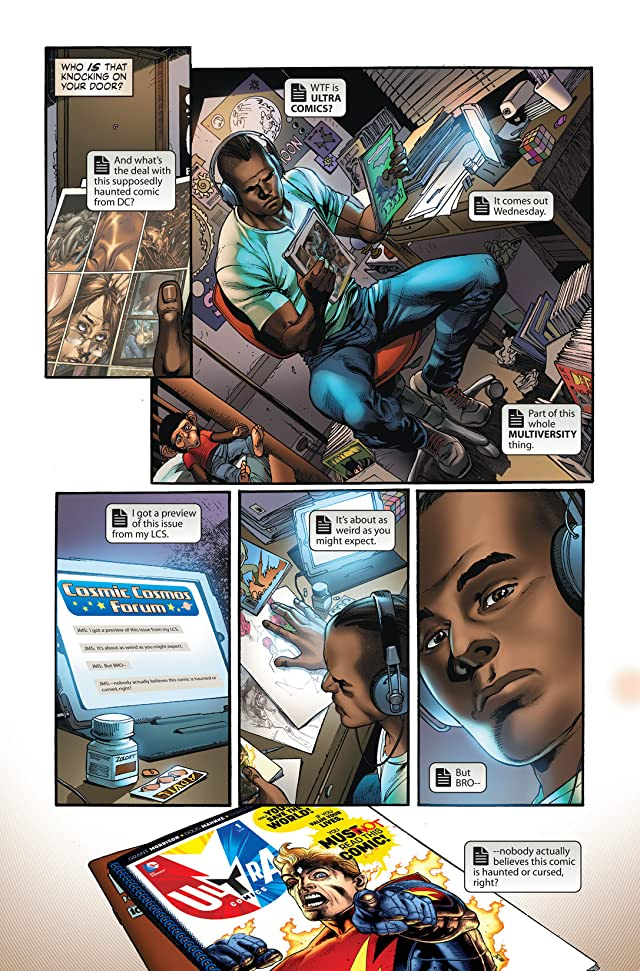 click for super-sized previews of The Multiversity (2014-) #1