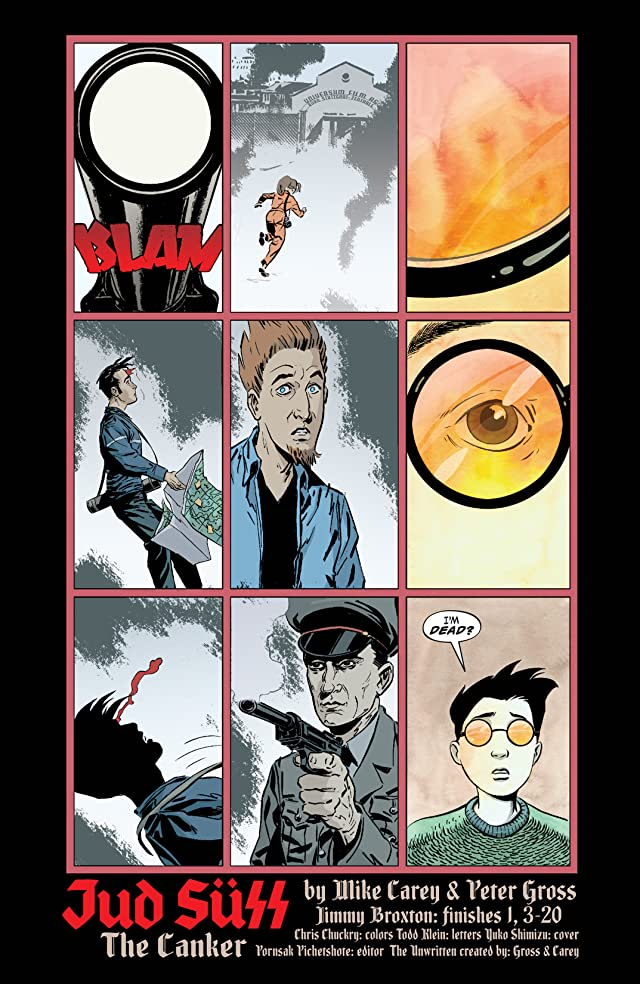 click for super-sized previews of The Unwritten #11
