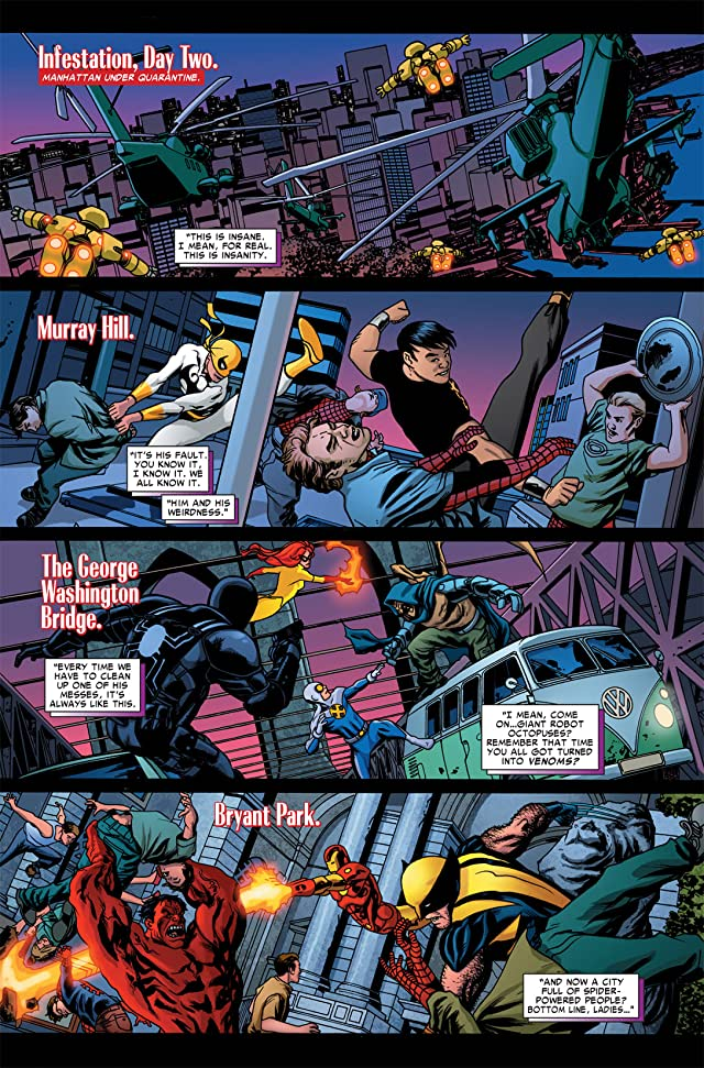 click for super-sized previews of Spider-Island: Avengers #1