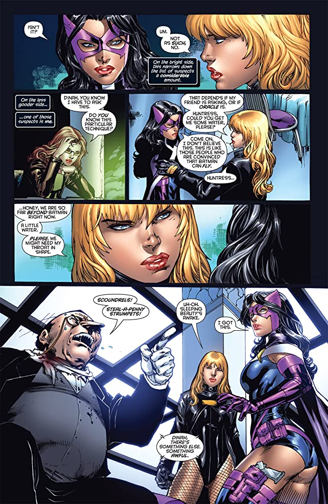 Birds of Prey (2010-2011) #3