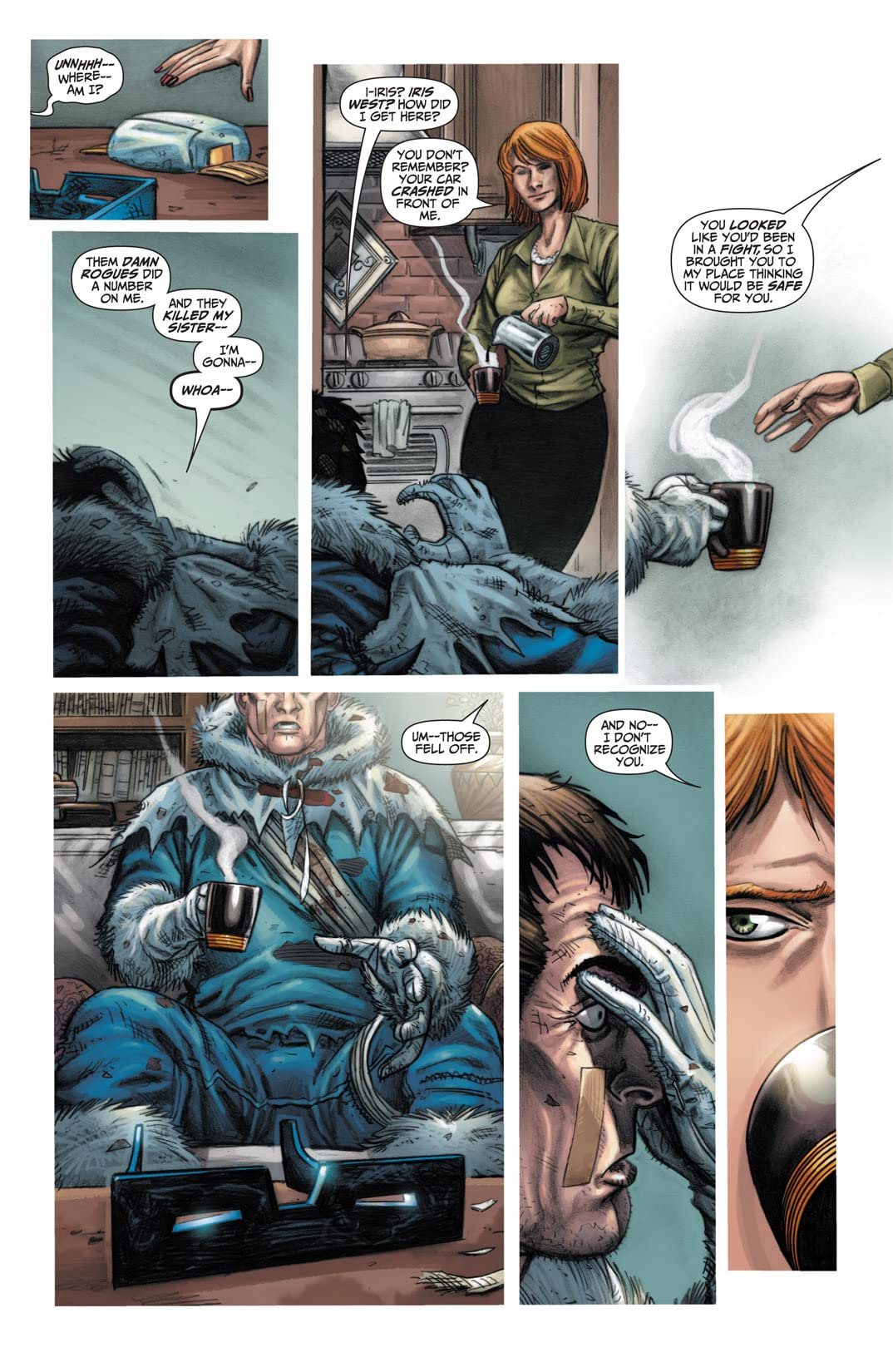 Flashpoint: Citizen Cold #3 (of 3)