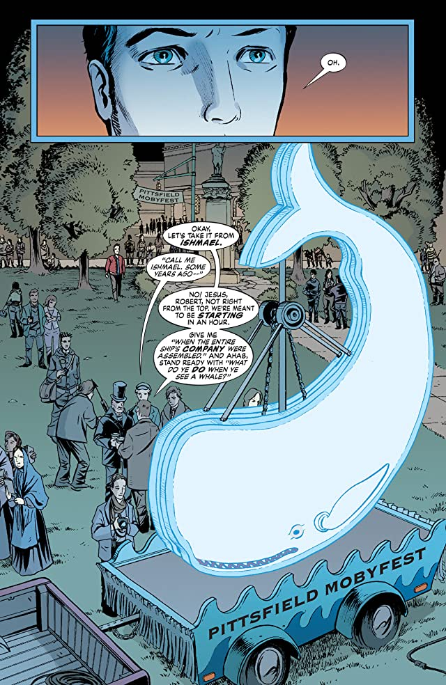 click for super-sized previews of The Unwritten #20