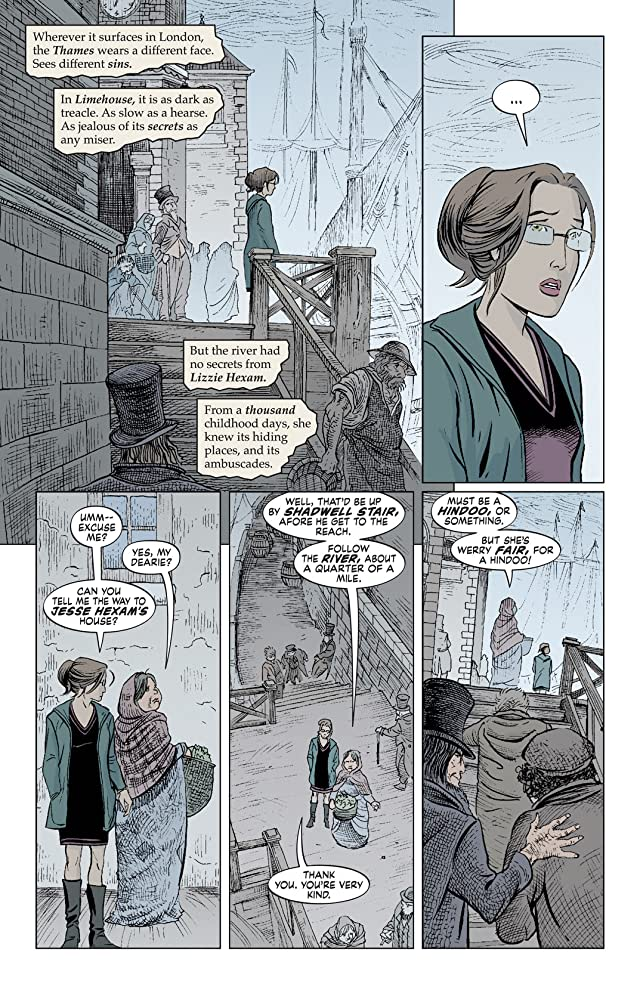 click for super-sized previews of The Unwritten #15