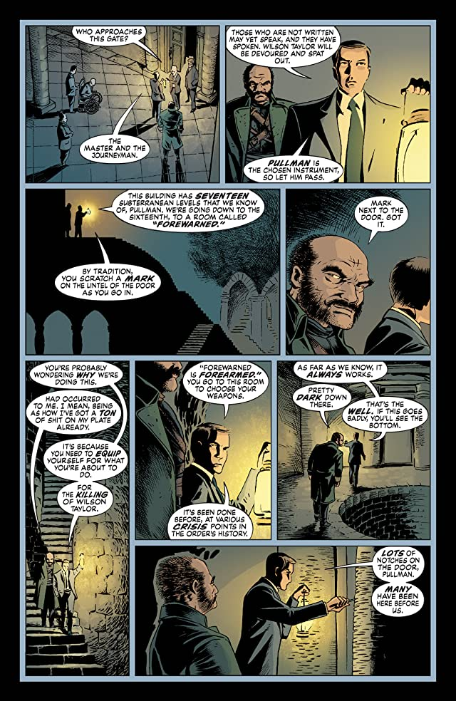 click for super-sized previews of The Unwritten #13