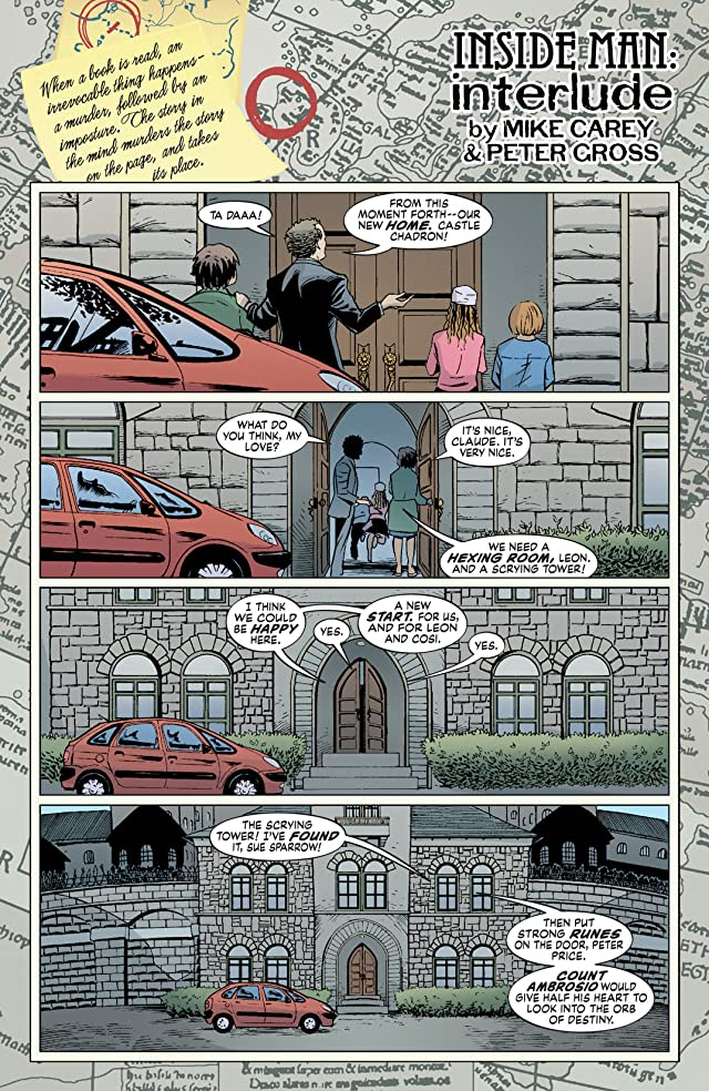 click for super-sized previews of The Unwritten #8