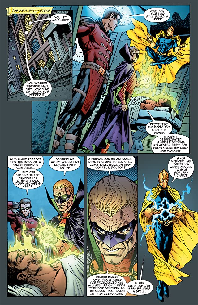click for super-sized previews of Justice Society of America (2007-2011) #32