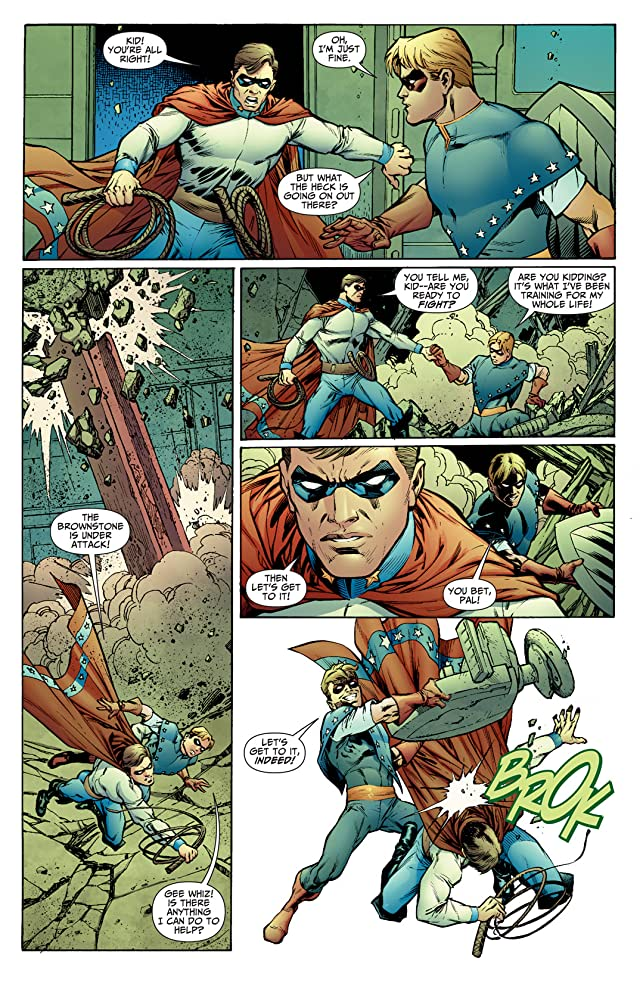 click for super-sized previews of Justice Society of America (2007-2011) #33