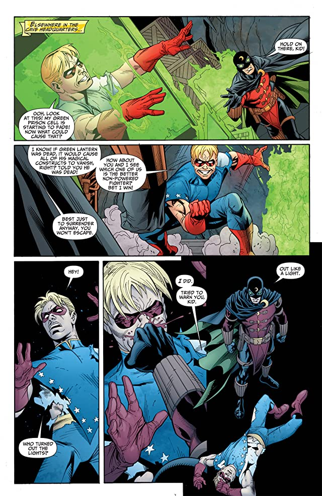 click for super-sized previews of Justice Society of America (2007-2011) #37