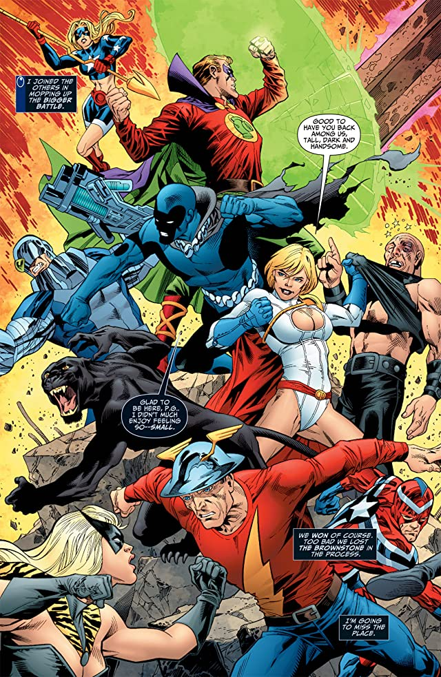 click for super-sized previews of Justice Society of America (2007-2011) #40