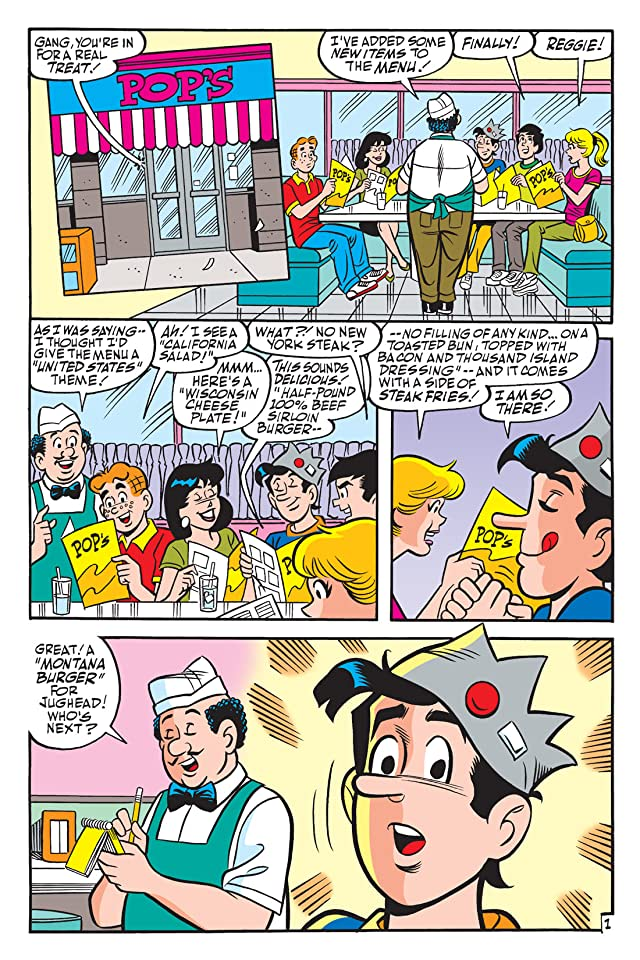 click for super-sized previews of Archie Freshman Year: Book Two