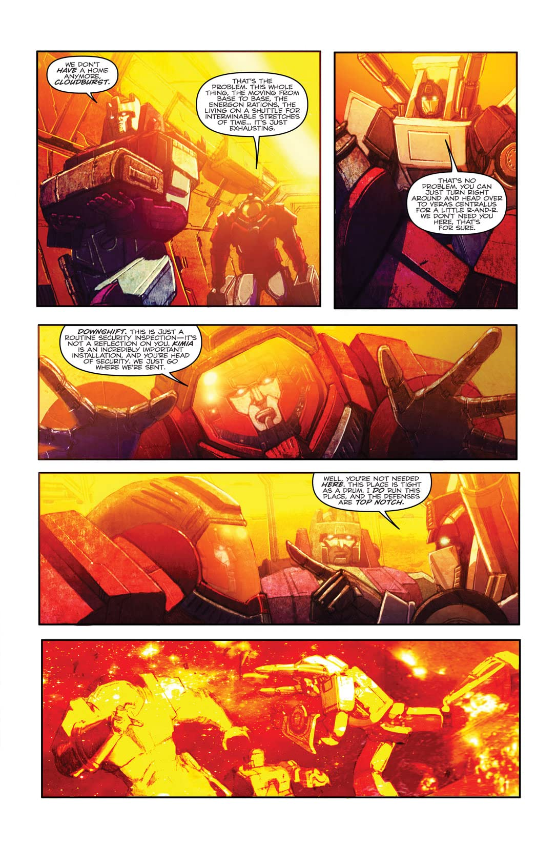 Transformers (2010-2011) #24