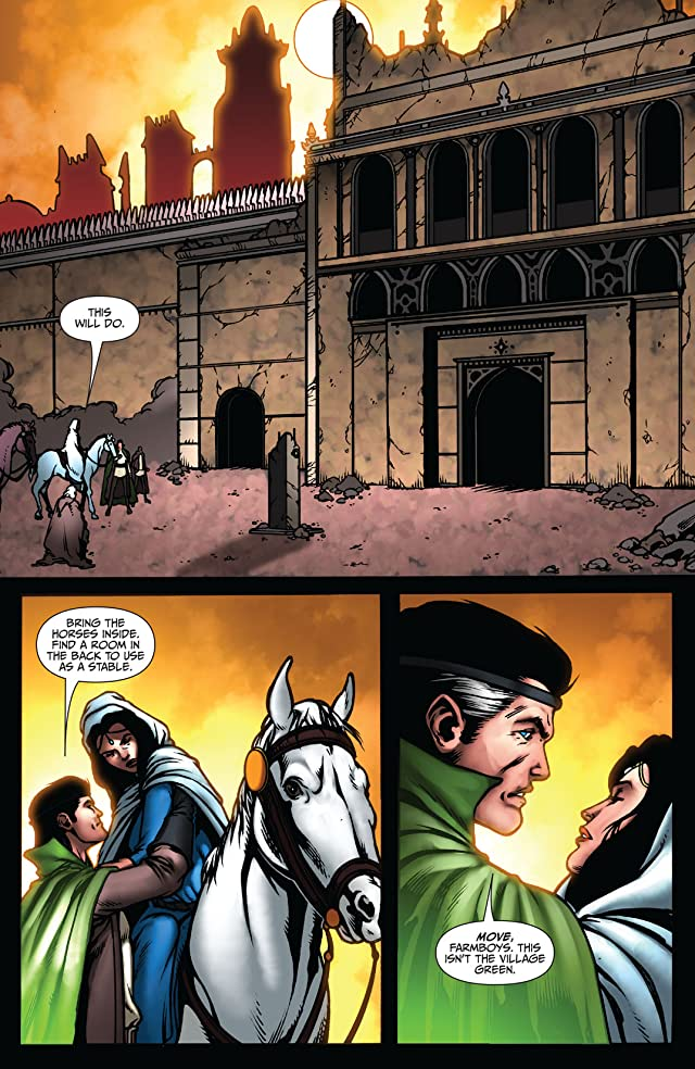 click for super-sized previews of Robert Jordan's Wheel of Time: Eye of the World #14