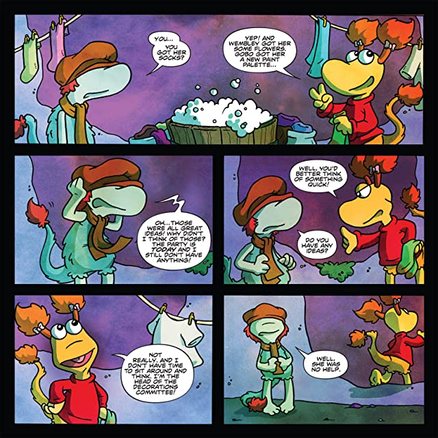 click for super-sized previews of Fraggle Rock Vol. 2 #3 (of 3)