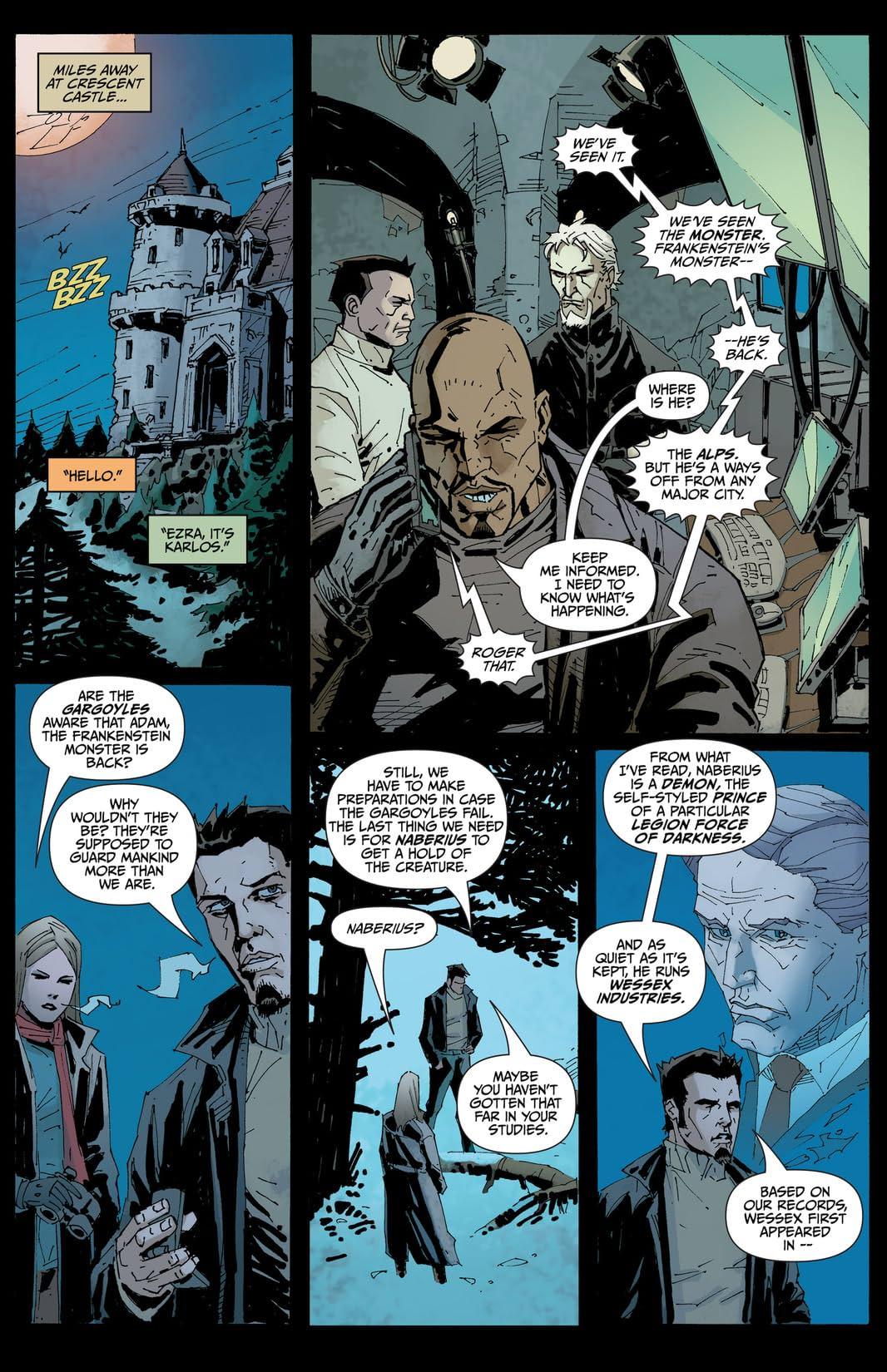 I, Frankenstein: Genesis #1