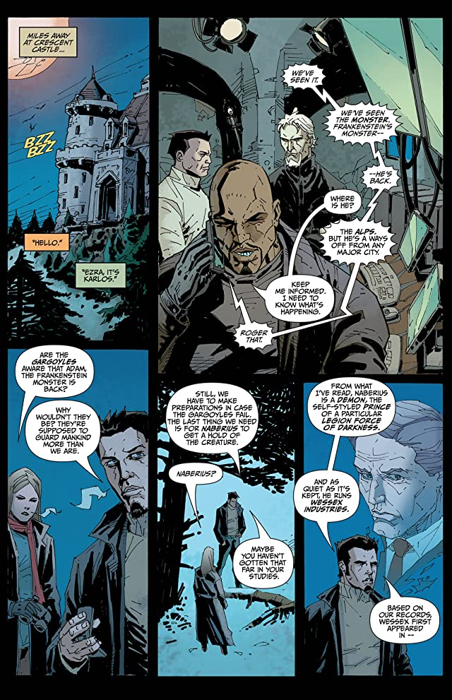click for super-sized previews of I, Frankenstein: Genesis #1