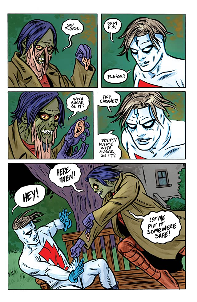 click for super-sized previews of Madman: All-New Giant-Size Super Ginchy Special!