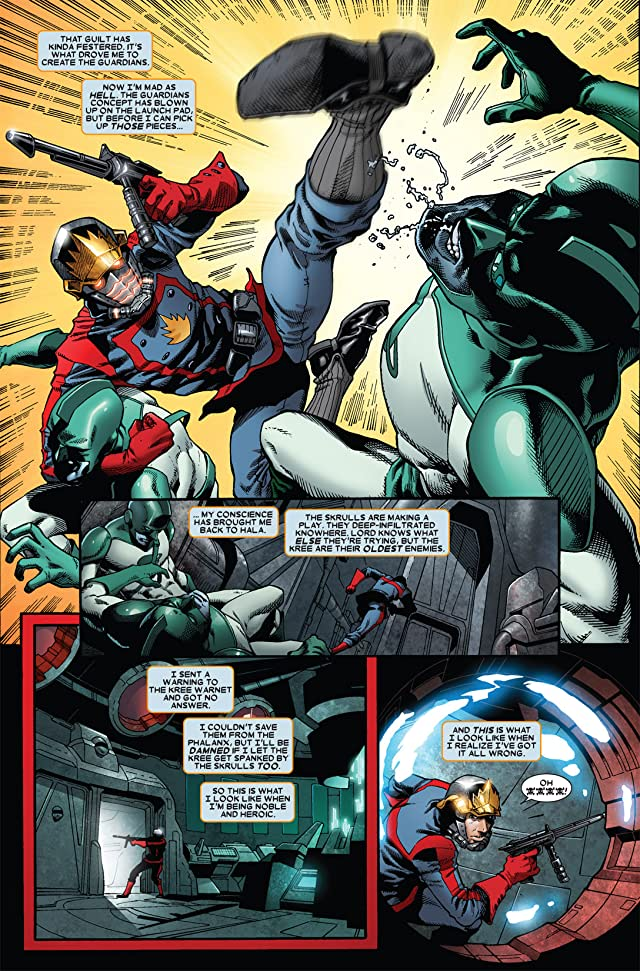 click for super-sized previews of Guardians of the Galaxy (2008-2010) #8
