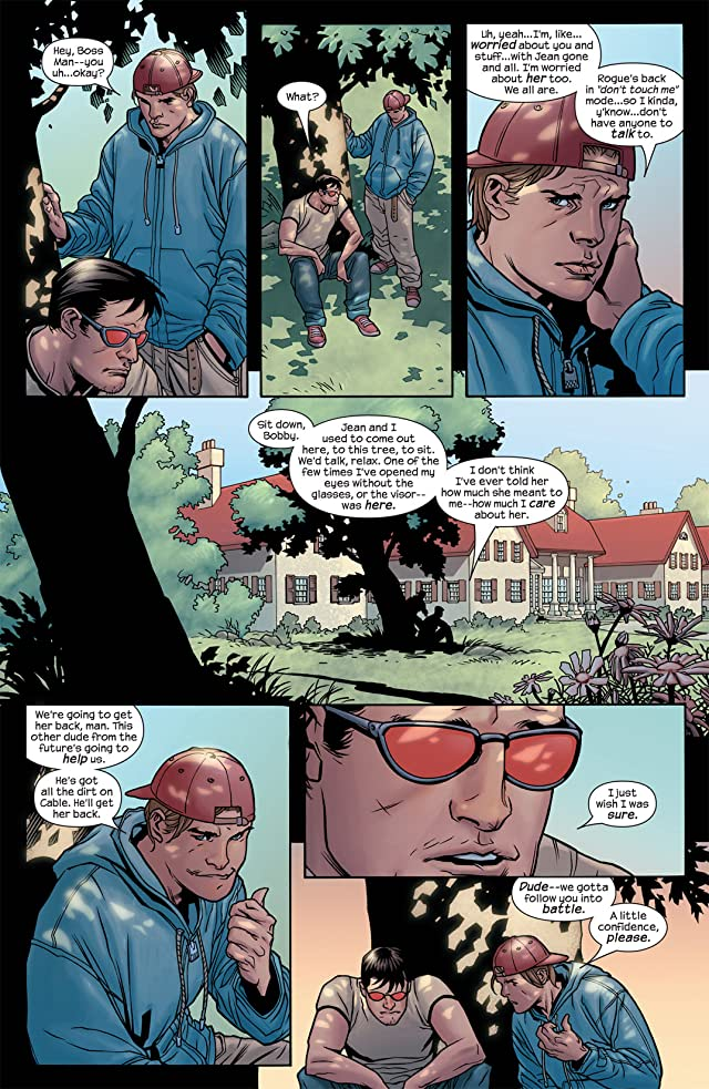 click for super-sized previews of Ultimate X-Men #77